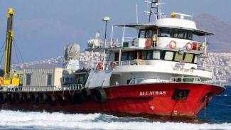 """Balıkçı teknesi """"Alcatras"""" Yunanistan'da karaya oturdu"""