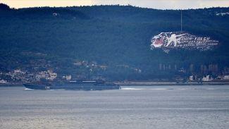 Rus savaş gemisi Çanakkale Boğazı'ndan geçti