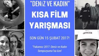 """""""Deniz ve Kadın"""" kısa film yarışması düzenleniyor"""
