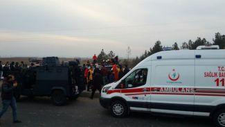 Sur'da polis ekiplerine saldırı düzenlendi