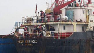 M/V Nazım İmamoğlu gemisinde yangın çıktı