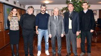 Alsancak Liman Esnafı İTO Başkanı Demirtaş'ı ziyaret etti