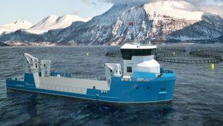 VOLT Service selects Damen's new UV 4312 for Norwegian aquaculture operations