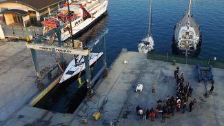 """Anything"" Teos Marina'dan yarışlara doğru yelken açtı"