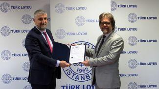 TCG Alemdar'ın Türk Loydu Klas Sertifikası teslim edildi