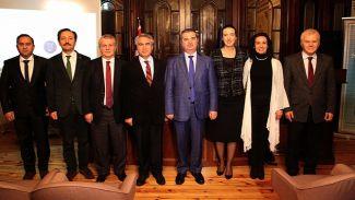 UNESCO Türkiye Başkanı Prof. Dr. Öcal Oğuz YTÜ'nin konuğu oldu