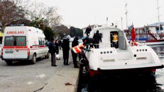 Deniz ambulansına iskelede yanaşacak yer yok