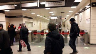 Marmaray'da seferler iptal edildi
