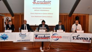 GSÜ Denizcilik Kulübü KOSDER'i ağırladı