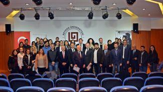 """""""Lojistik Yönetimi ve Hukuki Boyutu"""" paneli gerçekleştirildi"""