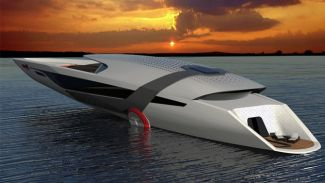 """Çevre dostu tekne """"Tesla Model Y Yacht""""'a ilgi büyük!"""