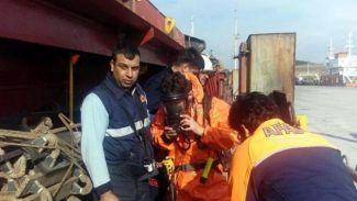 Marmara Ereğli'sinde gemi personeli ambarda ölü bulundu