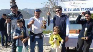 D-Marin Göcek'de balık avlama yarışması yapıldı