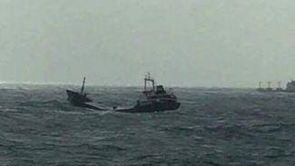 M/V Tınaztepe S gemisinin batma görüntüleri ortaya çıktı