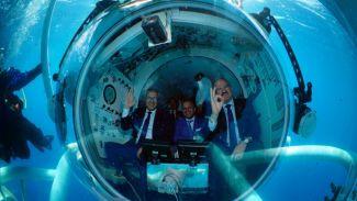 """Turistik denizaltı """"Nemo Primero"""" hizmete girdi"""
