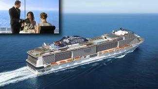 MSC Cruises, denizde yemeği yeni bir seviyeye taşıyor