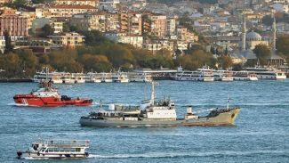 Kilyos açığında Rus askeri gemisi battı