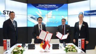 Türkiye ve Almanya'dan denizaltı inşasında işbirliği