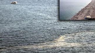 Antalya'da denizin görüntüsü vatandaşları korkuttu
