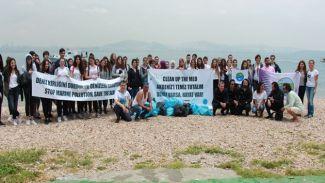 Deniz severler TURMEPA Gönüllüleri ile birlikte kıyılara akın etti!