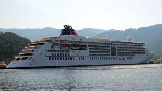 M/S Europa 2 ile 510 turist Marmaris'e geldi