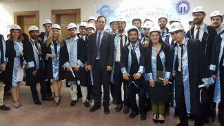 Gemi Mühendisleri Odası, KTÜ Mezuniyet Töreni'ne katıldı