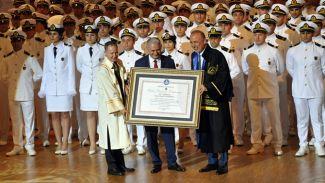 Başbakan Binali Yıldırım'a 'Fahri Doktora' unvanı verildi