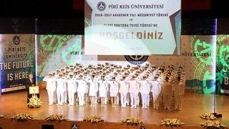 Piri Reis Üniversitesi'nde 4. Dönem Mezuniyet Töreni yapıldı