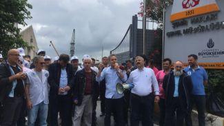 Şehir Hatları AŞ'ye grev kararı asıldı!