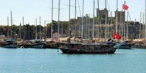 Yunan PSC müfettişleri, Türk bayraklı guleti seferden men etti