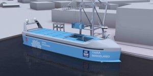 İnsansız gemi 'Yara Birkeland' açık sulara iniyor