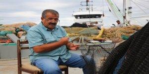 Babadan kalma tekneyle balıkçılığa başladı