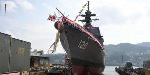 Japonya Asahi sınıfı ikinci gemisini denize indi