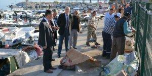 Bursa Kurşunlu Balıkçı Barınağı yenileniyor