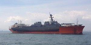 USS John S. McCain destroyerinin gövdesi çatladı