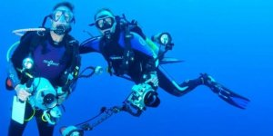 İşsizliğe su altında çözüm buldular