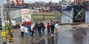 KKTC'deki Famagusta Tersanesi öğrencileri ağırladı