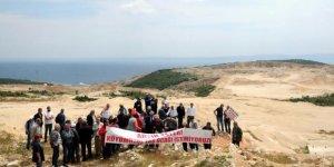 Taş ocakları Saros Körfezi'ne zarar veriyor