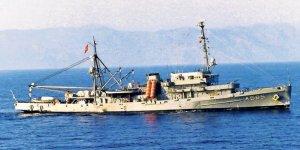 75 yaşındaki savaş gemisi TCG Akın emekli oldu