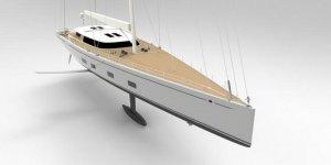 Baltic Yachts'dan özel yapım foil yelkenli