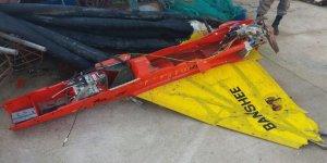Balıkçıların ağına İnsansız Hava Aracı takıldı