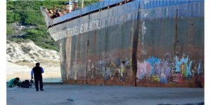 'Mercy God' grafiti duvarına dönüştü