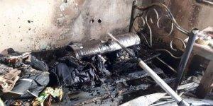 Altınova'da tersane işçilerinin kaldığı evde yangın