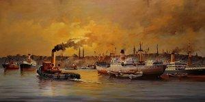 """""""İzlenesi Gemiler"""" sergisi Rahmi M. Koç Müzesi'nde açıldı"""