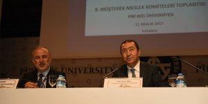 8.Müşterek Meslek Komiteleri PRÜ'de toplandı