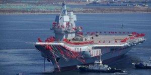 Çin'in ikinci uçak gemisi 2 yıl içinde denize indirecek