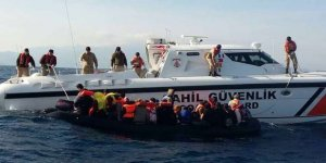 Sahil Güvenlik Ege'de ölüm yolculuğuna göz açtırmıyor