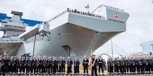 Uçak gemisi HMS Prince of Wales denize indirildi