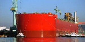 Shell'in 488 metrelik dev doğalgaz platformu