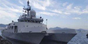 Güney Kore donanmasının yeni eğitim gemisi